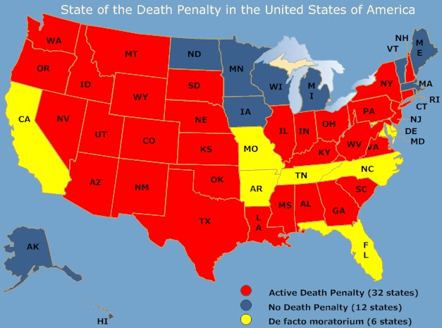 State of the Death Penalty in the USA
